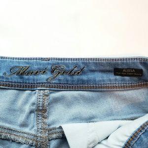 Mavi Jeans - Mavi Gold 'Alissa' High-Rise, Super Skinny Jean